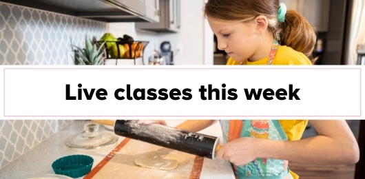 online cooking classes for kids